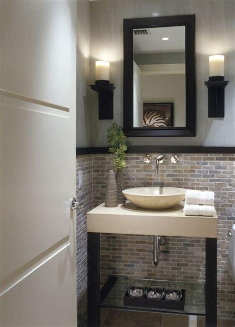Half Bathroom Makeover  Bathrooms  Pinterest Stone