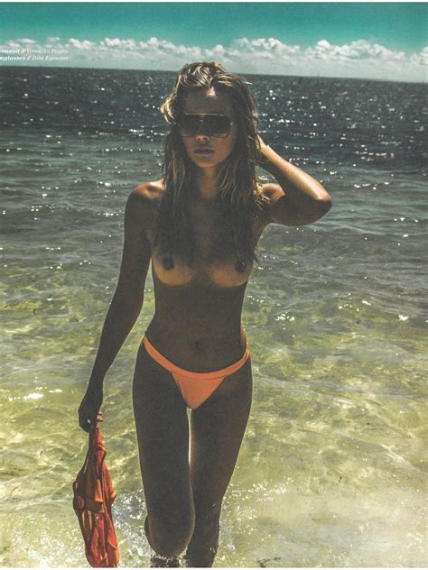Polish Model Sandra Kubicka Nude Sexy In Treats