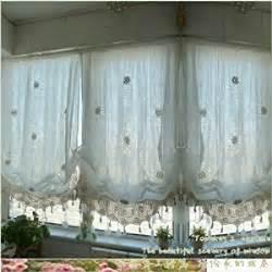 diaidi pastoral style adjustable balloon curtain living