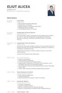 pastor resume template free lead pastor resume sles visualcv resume sles database