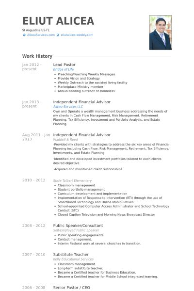 Ministry Resume Template by Exle Of Curriculum Vitae For Search Results
