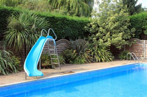 Above Ground Swimming Pool Slide