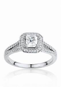 belk co 3 4 ct tw diamond engagement ring in 14k With belk wedding rings