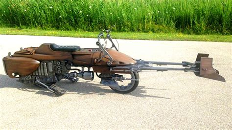 Wars Speeder Car by Custom Wars Speeder Bike Motorcycle Is Simply Amazing