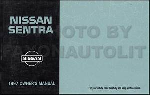 1997 Nissan Sentra  200sx Repair Shop Manual Original
