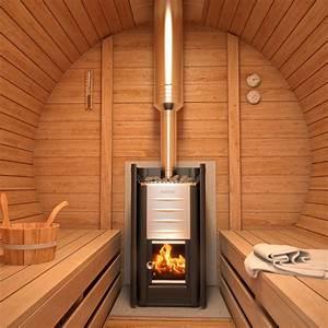 Isidor premium cabine sauna sauna exterieur sauna de for Sauna exterieur avec poele a bois