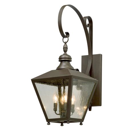 troy lighting mumford 4 light bronze outdoor wall mount
