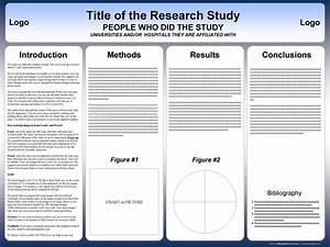 free powerpoint scientific research poster templates for With how to make a poster template in powerpoint