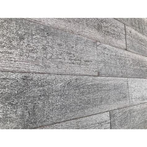 barn wood         reclaimed wood decorative wall planks  gray color  sq