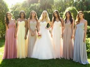 damas mariage damas de honor para una novia una moda no americana mariage weddingplanner