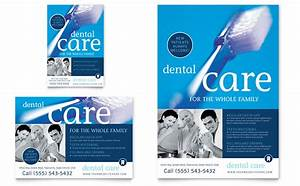 Library Brochure Templates Dentist Office Flyer Ad Template Word Publisher