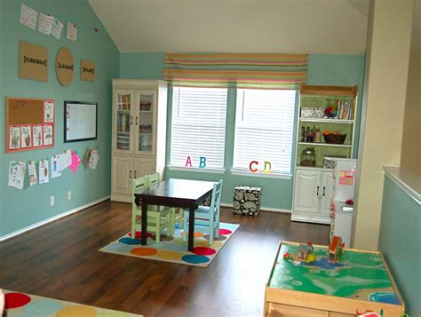 childrens bedding playroom ideas for with simple wooden table and