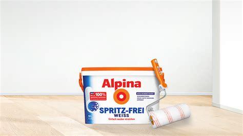 alpina spritzfrei weiss miniratgeber w 228 nde streichen raumideen org