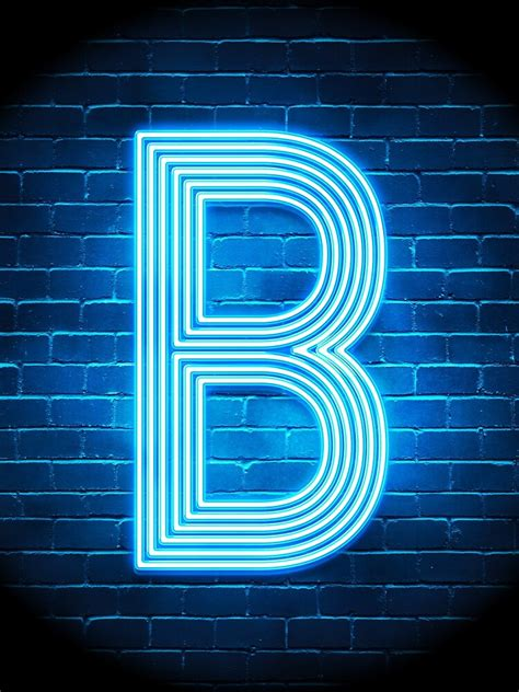 letter  retro neon sign blue funny initial monogram drawstring bag  popcultureofpop redbubble