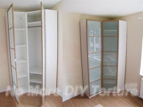 Corner Cupboards Ikea by 25 Best Ideas About Corner Wardrobe On Corner