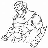 Fortnite Coloring Pages Omega Printable Ninja Printables Colorings Skin Mewarnai Drawings Boys Easy Apk Ws sketch template