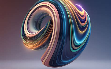 3d Wallpapers by Bb01 Digital Color Circle Illustration 3d Wallpaper