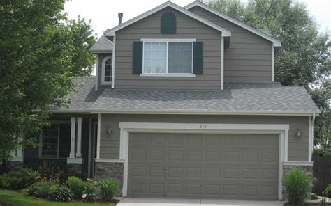 exterior house painting cost with gray wall theme ideas