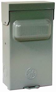 Ge Electrical Tf60rcp Ac Disconnect Switches  Outdoor