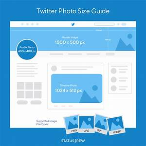 Twitter Picture Size Social Media Image Sizes Cheat Sheet 2019 Infographic