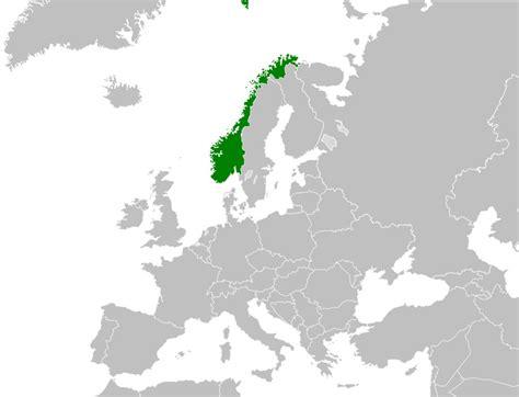 Carte Du Monde Avec Norvege by Norv 232 Ge Sur La Carte Du Monde