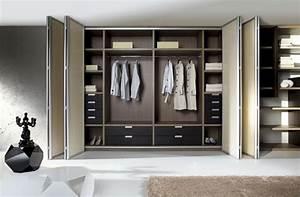 Les portes de placard pliantes pour un rangement joli et moderne Archzine fr