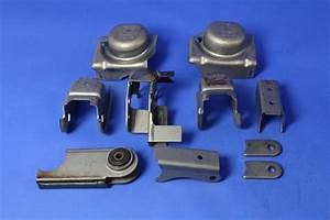 Jeep Wrangler Front Axle Mounting Bracket Kit For The Wrangler  Includes All Stamped