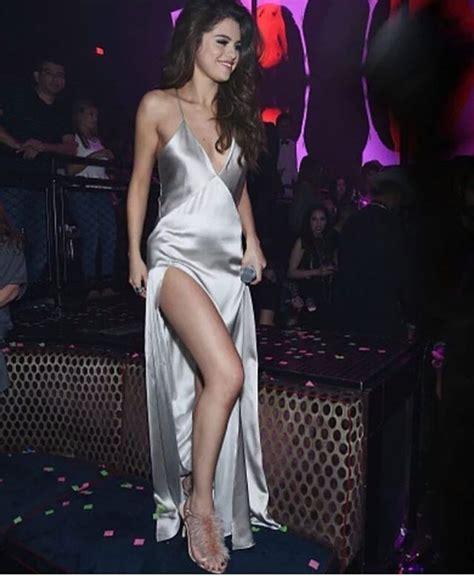 Pants For Kitchen by Dress Silk Metallic Silk Dress Selena Gomez Silver