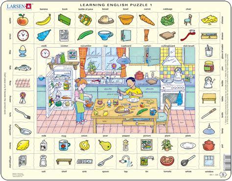 apprendre cuisine puzzle cadre apprendre l 39 anglais 1 dans la cuisine en