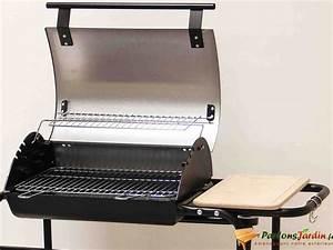 Barbecue Cuve En Fonte : barbecue charbon de bois avec soufflerie et couvercle tambora ~ Nature-et-papiers.com Idées de Décoration