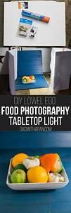 DIY Tabletop Light For Food Photography - Dad With A Pan