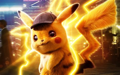 wallpaper   pikachu pokemon detective pikachu
