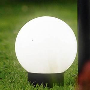 Leuchtkugeln Garten Solar : brema 123138 kunststoff solar leuchtkugel mit erdspie und verl ngerungsstiel f r den garten ~ Sanjose-hotels-ca.com Haus und Dekorationen