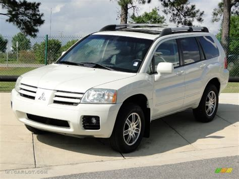 2004 Mitsubishi Endeavor Limited by Dover White Pearl 2004 Mitsubishi Endeavor Limited