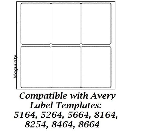 avery 8164 template avery template 5164 for word images
