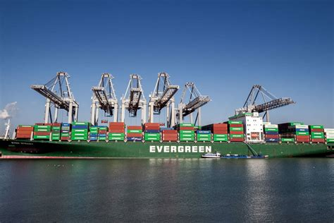 evergreen marine orders   teu containerships