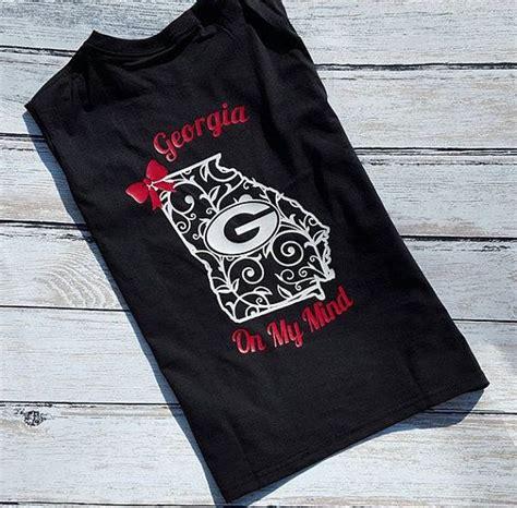 personalize georgia bulldogs shirt  georgiayankeedesigns