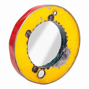 oil drum mirrors recycled vintage wall art With kitchen cabinets lowes with oil drum wall art