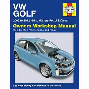 Haynes 5633 Workshop Repair Manual Guide Vw Golf Petrol