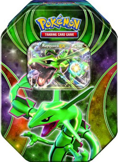 Rayquaza Ex Deck Tin Gift Pack by Bunch Of Breakthrough Products This Fall Pok 233