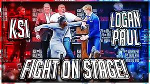 KSI PUNCHED LOGAN PAUL AT PRESS CONFERENCE (Highlights ...