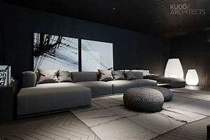 8, Living, Room, Interior, Designs, And, Layout, With, Dramatic, Dark, Shades