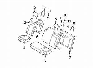Ford Expedition Headrest Guide  3rd Row Seat  Medium Flint