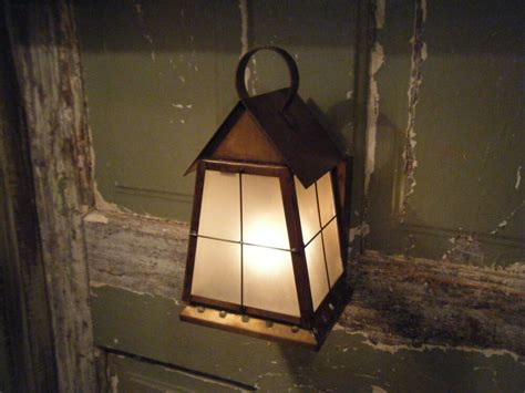 solid brass light fixture sconce wall porch antique