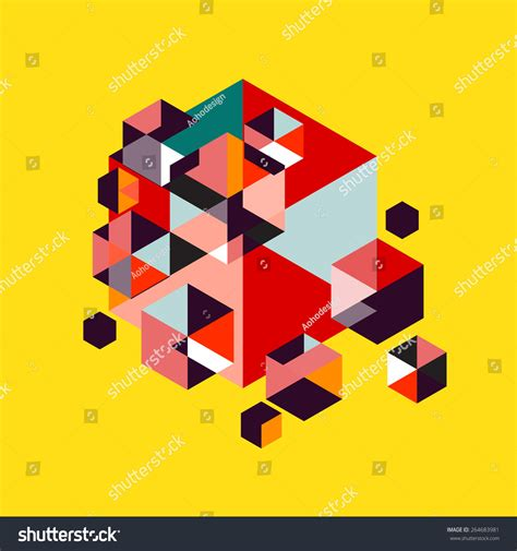 Abstract Minimal Shapes by Geometrical Modern Minimal Geometry Object Abstract