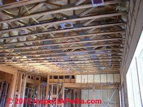 ceiling joist spacing for gyprock ceiling joist spacing i both 2x ceiling joists