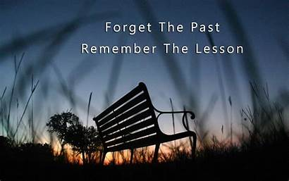Quotes Wallpapers Lesson Past Forget Remember Weneedfun