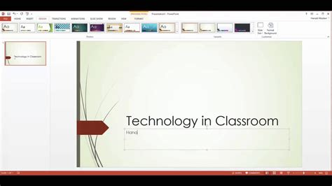 Powerpoint Tutorial ( Design, Title Page, Slides ) 1 Of 3