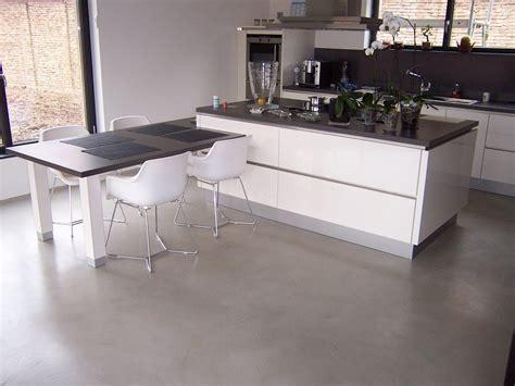 cuisine en béton ciré beton cire cuisine kit bton cir cuisine plan de travail