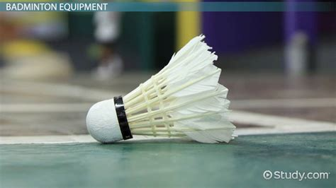badminton rules equipment video lesson transcript
